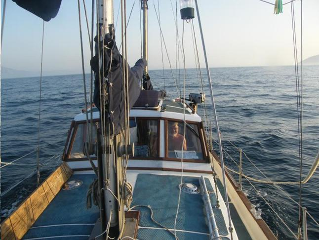 2010. Из Англии в Средиземное море.