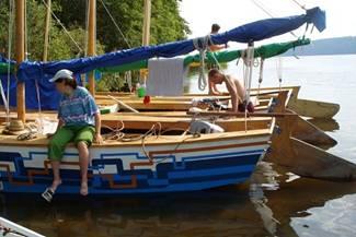 Одиночное плавание от Ярославля до Юрьевца