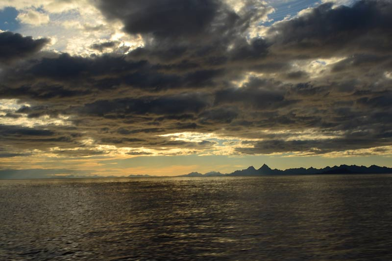 Большое путешествие «Чапаева» по Норвежскому морю, норвежским фьордам и норвежским горам