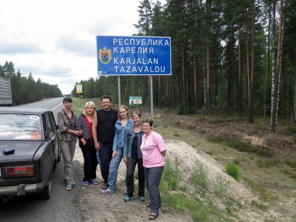 Путешествие на катамаране по Выгозеру