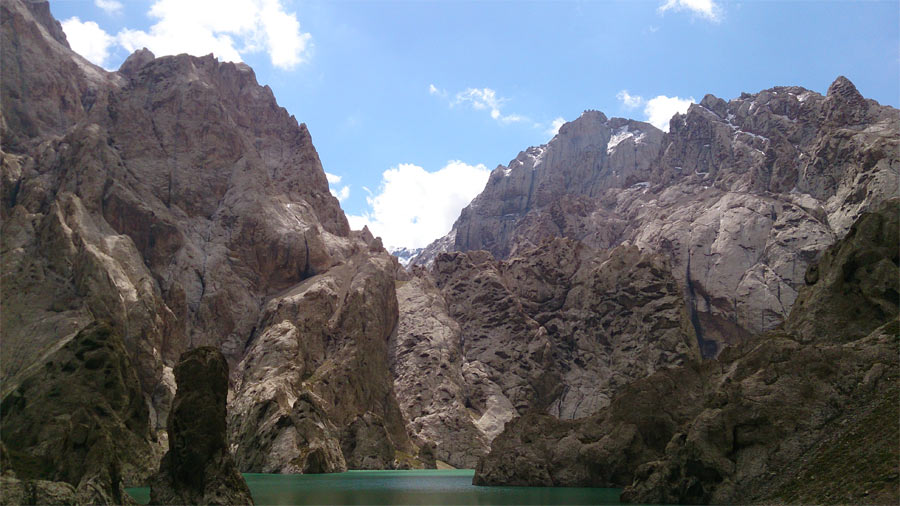Отчет о парусном прохождении высокогорного озера Кель Су